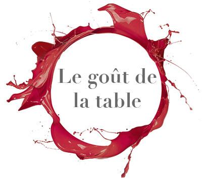 gout de la table