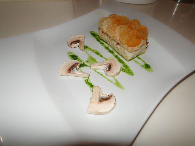 ajoutez quelques champignons de Paris