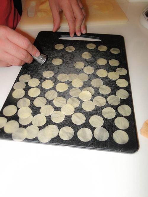 disques de pomme de terre
